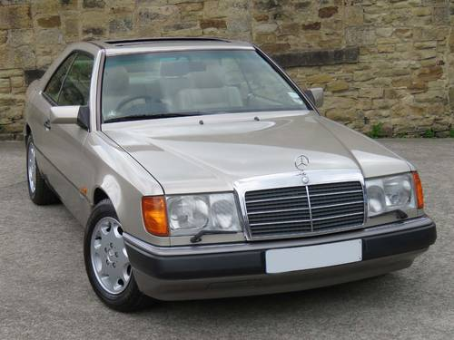 1991 Mercedes W124 300CE Sportline Coupe Auto 75K - FSH - Immac. SOLD (picture 3 of 6)