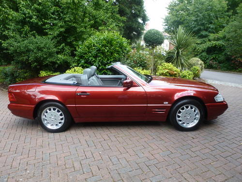 1998 Exceptional low mileage SL320 SOLD (picture 3 of 6)