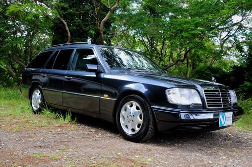 1995 Mercedes-Benz W124 E320 Estate 70,398 miles from new SOLD (picture 1 of 6)