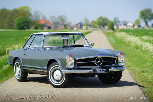 MERCEDES-BENZ 230 SL W113 PAGODE, 1967 - TOP RESTORED For Sale (picture 1 of 6)