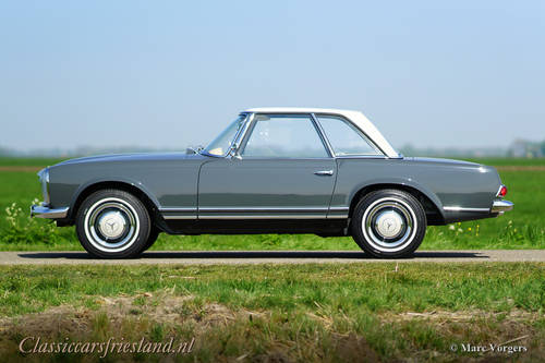 MERCEDES-BENZ 230 SL W113 PAGODE, 1967 - TOP RESTORED For Sale (picture 2 of 6)