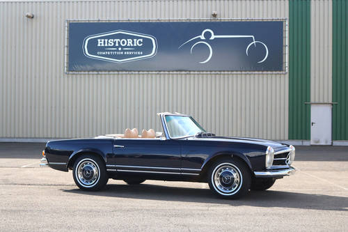 1970 Mercedes 280SL Pagoda Hard top Automatic SOLD (picture 1 of 6)