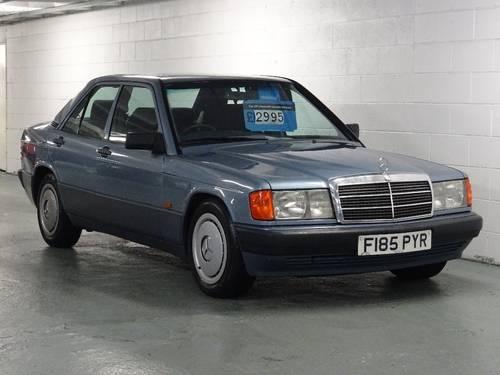 1989 Mercedes 190E 2.0 Auto Facelift  For Sale (picture 1 of 6)