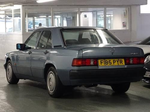 1989 Mercedes 190E 2.0 Auto Facelift  For Sale (picture 2 of 6)
