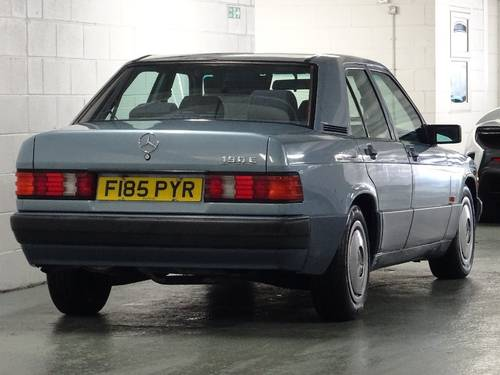 1989 Mercedes 190E 2.0 Auto Facelift  For Sale (picture 3 of 6)