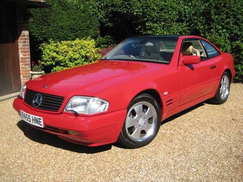 1998 Mercedes Benz SL320 R129 With Just 7,900  Miles From New For Sale (picture 1 of 6)