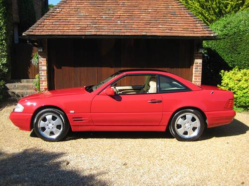 1998 Mercedes Benz SL320 R129 With Just 7,900  Miles From New For Sale (picture 2 of 6)