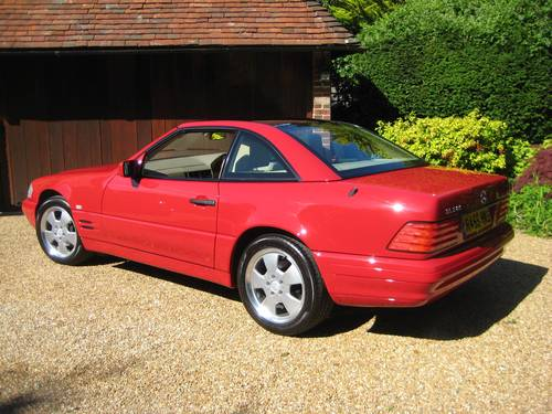 1998 Mercedes Benz SL320 R129 With Just 7,900  Miles From New For Sale (picture 3 of 6)
