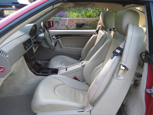 1998 Mercedes Benz SL320 R129 With Just 7,900  Miles From New For Sale (picture 6 of 6)