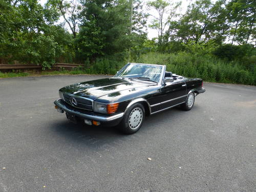 1984 Mercedes 500SL Euro Spec Nice Driver SOLD (picture 3 of 6)