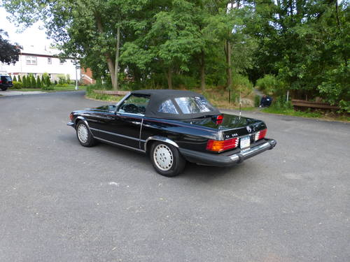 1984 Mercedes 500SL Euro Spec Nice Driver SOLD (picture 4 of 6)