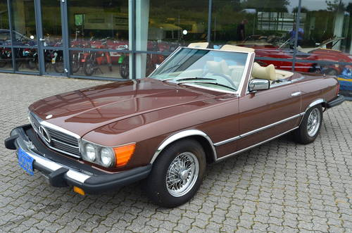 1978 Mercedes 450 SL 4,5 Cabriolet Aut.  SOLD (picture 1 of 6)
