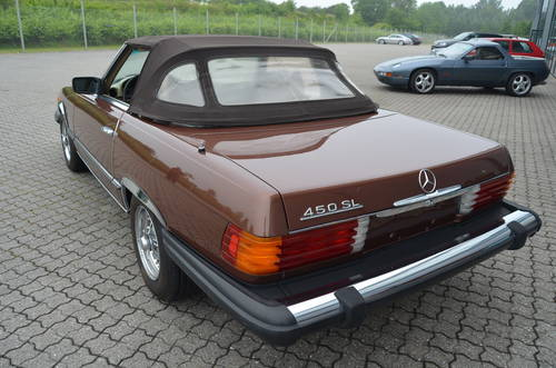 1978 Mercedes 450 SL 4,5 Cabriolet Aut.  SOLD (picture 2 of 6)