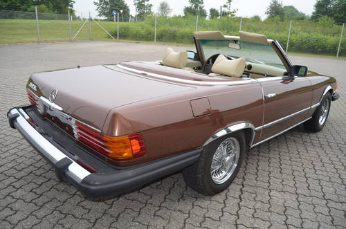1978 Mercedes 450 SL 4,5 Cabriolet Aut.  SOLD (picture 3 of 6)