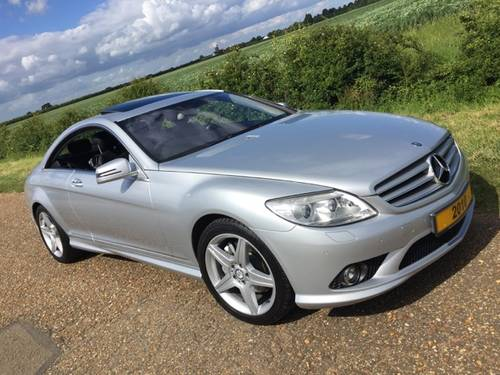 2010 CL 500 AMG Bodykit & Wheels, 59K ONLY, MBFSH, 2 Owners.. For Sale (picture 1 of 6)