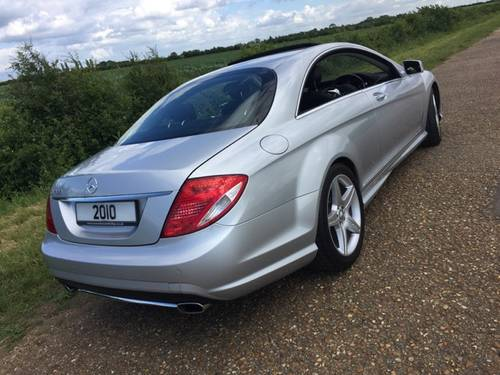 2010 CL 500 AMG Bodykit & Wheels, 59K ONLY, MBFSH, 2 Owners.. SOLD (picture 2 of 6)