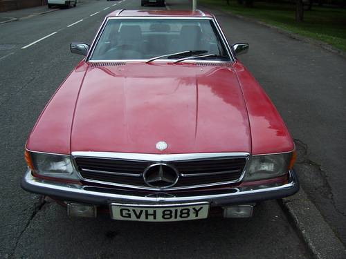 1982 MERCEDES  280 SL R107 SOLD (picture 3 of 6)