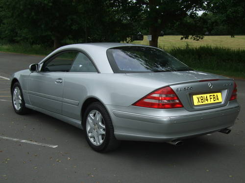 2000 MERCEDES BENZ CL500 AUTOMATIC For Sale (picture 5 of 6)