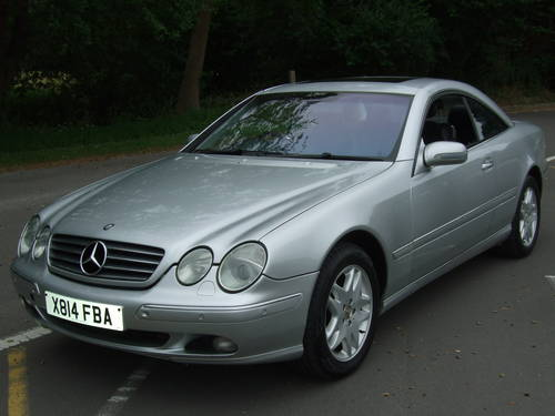 2000 MERCEDES BENZ CL500 AUTOMATIC For Sale (picture 6 of 6)