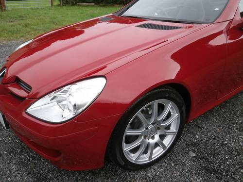 2007 '57' MERC SLK280 3.0 V6 RED JUST 15,963 MLS PRISTINE!! SOLD (picture 4 of 6)