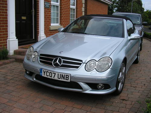 2007  CLK Auto 280 3.0 Sport Convertible with AMG Styling      For Sale (picture 3 of 6)