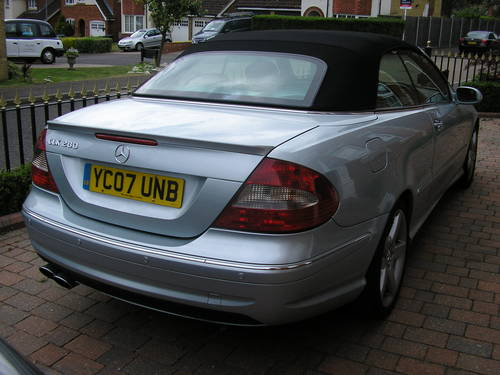 2007  CLK Auto 280 3.0 Sport Convertible with AMG Styling      For Sale (picture 4 of 6)