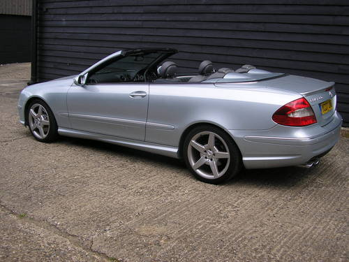 2007  CLK Auto 280 3.0 Sport Convertible with AMG Styling      For Sale (picture 1 of 6)