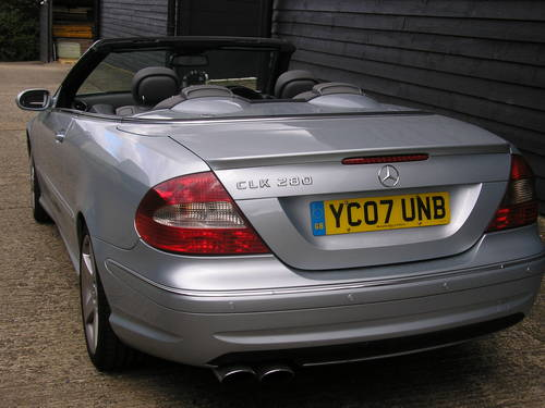 2007  CLK Auto 280 3.0 Sport Convertible with AMG Styling      For Sale (picture 2 of 6)