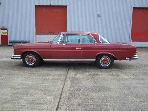 1970 Mercedes 280SE Coupe lhd For Sale (picture 3 of 6)