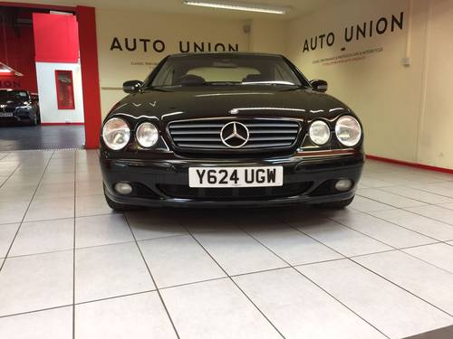 2001 MERCEDES BENZ CL500 For Sale (picture 3 of 6)