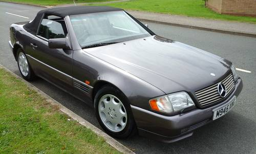 1994 Mercedes SL320 ,80600 miles, For Sale (picture 5 of 6)