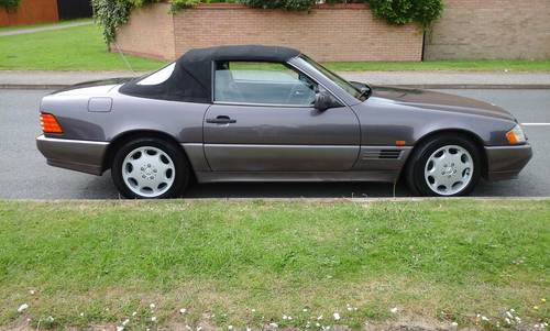 1994 Mercedes SL320 ,80600 miles, For Sale (picture 3 of 6)