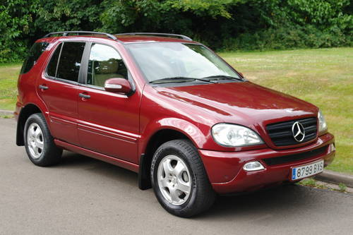 ae2aa3e024 LHD. Left Hand Drive. Mercedes ML 270 CDi. Low Miles. FSH. SOLD ...