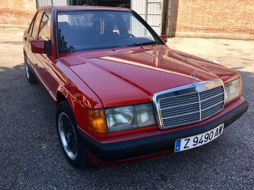 1990 LEFT HAND DRIVE. LHD. RED, EUROPEAN. A 1 CONDITION SOLD (picture 2 of 6)