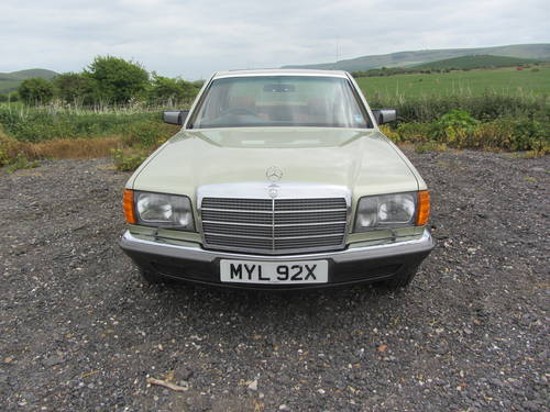 1982 Mercedes-Benz 380 SE for sale SOLD (picture 1 of 6)