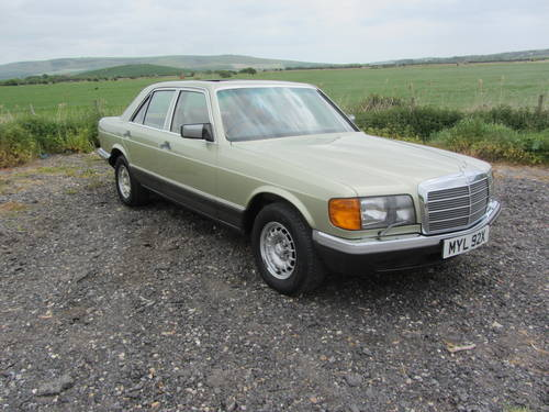 1982 Mercedes-Benz 380 SE for sale SOLD (picture 2 of 6)