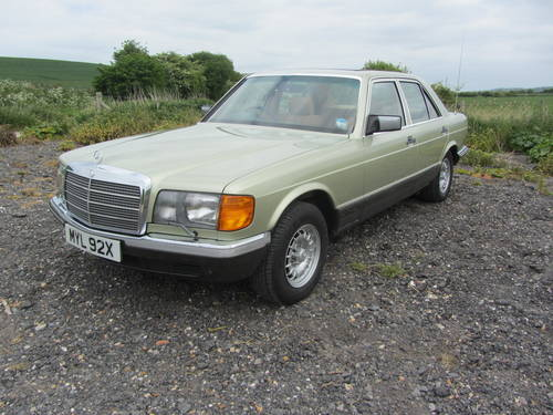 1982 Mercedes-Benz 380 SE for sale SOLD (picture 6 of 6)