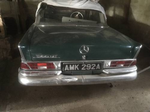 1963 Mercedes Benz 300 Se Fintail For Sale (picture 1 of 4)