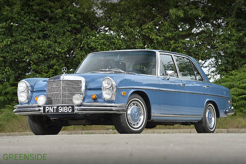 1968 LHD Mercedes 300 Sel 6.3  V8 Saloon SOLD (picture 3 of 6)
