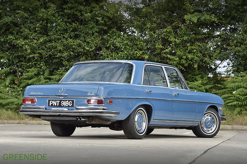 1968 LHD Mercedes 300 Sel 6.3  V8 Saloon SOLD (picture 4 of 6)