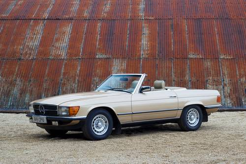 1985 Mercedes-Benz (R107) 280SL SOLD (picture 1 of 6)