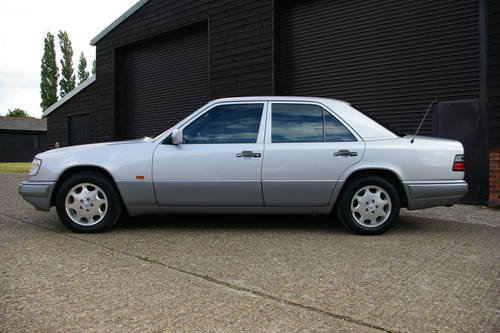 1994 Mercedes W124 E280 LTD Automatic Saloon (25,763 miles) SOLD (picture 1 of 6)