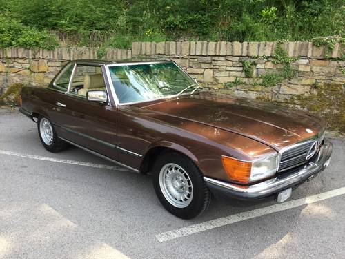 1983 MERCEDES 280SL  SPORTS  W107 For Sale (picture 1 of 6)
