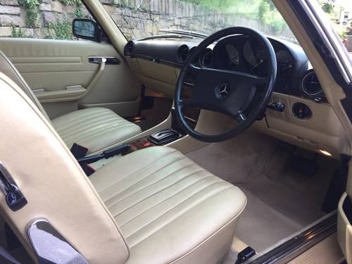 1983 MERCEDES 280SL  SPORTS  W107 For Sale (picture 4 of 6)