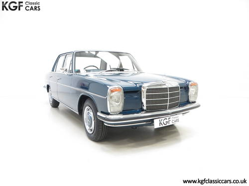 1973 Mercedes-Benz 250 (W114) with just 6,212 Miles & Two Owners SOLD (picture 1 of 6)