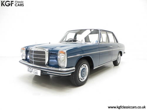 1973 Mercedes-Benz 250 (W114) with just 6,212 Miles & Two Owners SOLD (picture 2 of 6)
