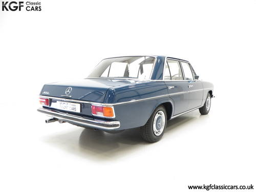 1973 Mercedes-Benz 250 (W114) with just 6,212 Miles & Two Owners SOLD (picture 5 of 6)