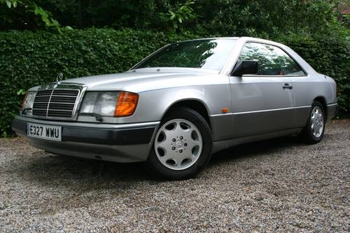 1988 STUNNING W124 300E COUPE, £2500 SPENT RECENTLY SOLD (picture 1 of 6)