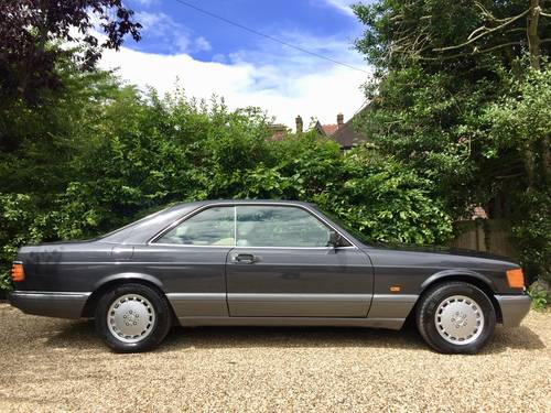 1990/H - Mercedes 560SEC C126. **SOLD-SIMILAR WANTED** Wanted (picture 3 of 6)