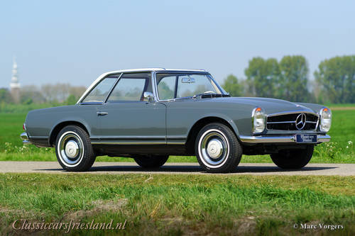 MERCEDES-BENZ 230 SL W113 PAGODE, 1967 - TOP RESTORED For Sale (picture 3 of 6)